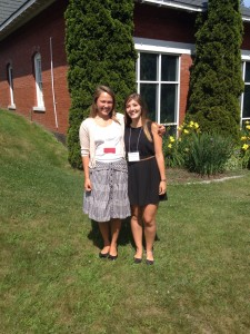 Trina and I at the Maine Beaches Conference in July